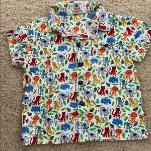 Other - Like new animals button down shirt